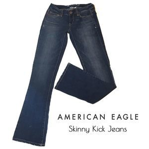 American Eagle Super Stretch Skinny Kick Jeans